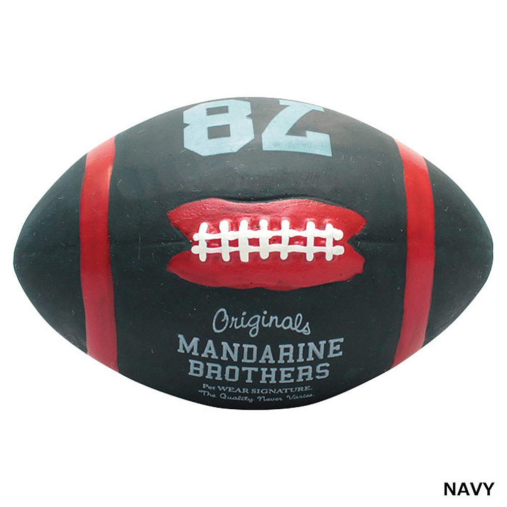 MANDARINE BROTHERS LATEX AMERICAN FOOTBALL TOY